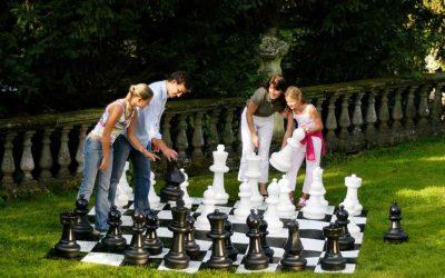 Bérelhető cukorágyú, légvár, óriás sakk